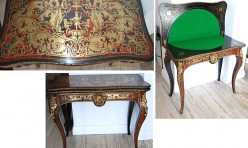 French Boule Card Table