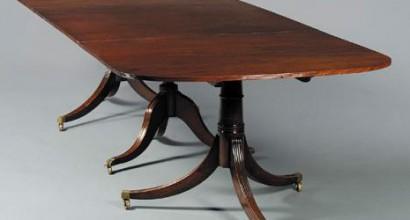 Regency Table Dining Table Restoration