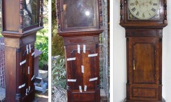 Grandfather clock restoration