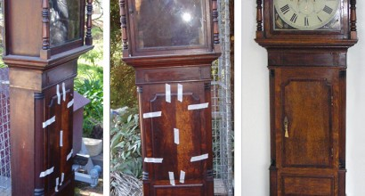 Grandfather clock restoration