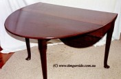 Pad Foot Drop leaf Table