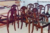 Mahogany Dining Chair Restoration