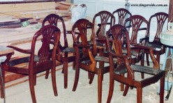 Mahogany Dining Chair Restoration