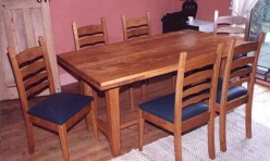 Oak Dining Suite Design and Construction