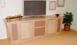 Television Cabinet with sound panels