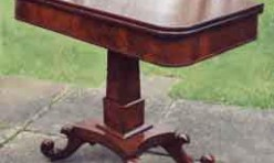 Mahogany Tea Table