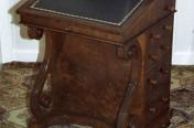 Walnut Davenport Restoration
