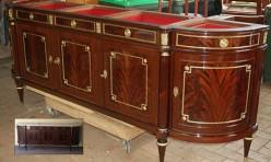 French Regency Sideboard Restoration