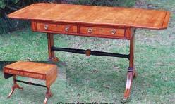 Drop Leaf Writing Table