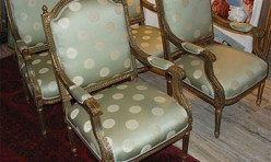 Antique Gilt Chair Set
